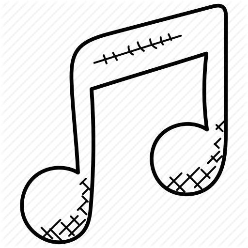 512x512 melody, music, music note, music sign, musical symbol icon