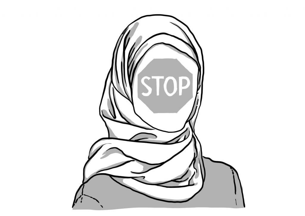 1024x726 muslim drawing muslim headscarf for free download