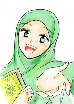 236x333 awesome muslim girl illustrations images in muslim girls