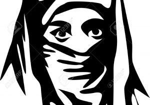 300x210 muslim girls with burka sketch muslim women drawing at getdrawings