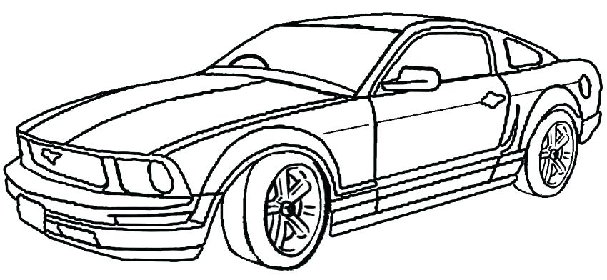 850x392 mustang car coloring pages mustang coloring pages for kids mustang