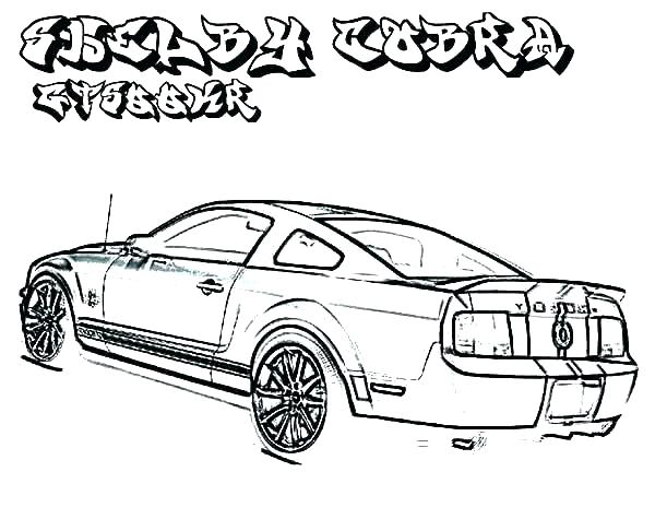 600x464 mustang car coloring pages mustang coloring sheet mustang gt