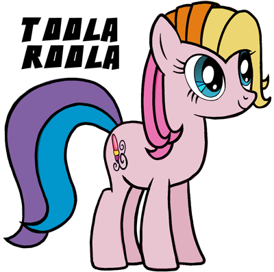 400x398 How To Draw Toola Roola From My Little Pony Easy Step