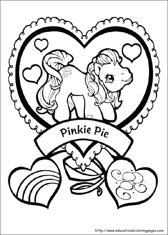 567x794 My Little Pony Coloring Pages Mane My Little Pony Drawings