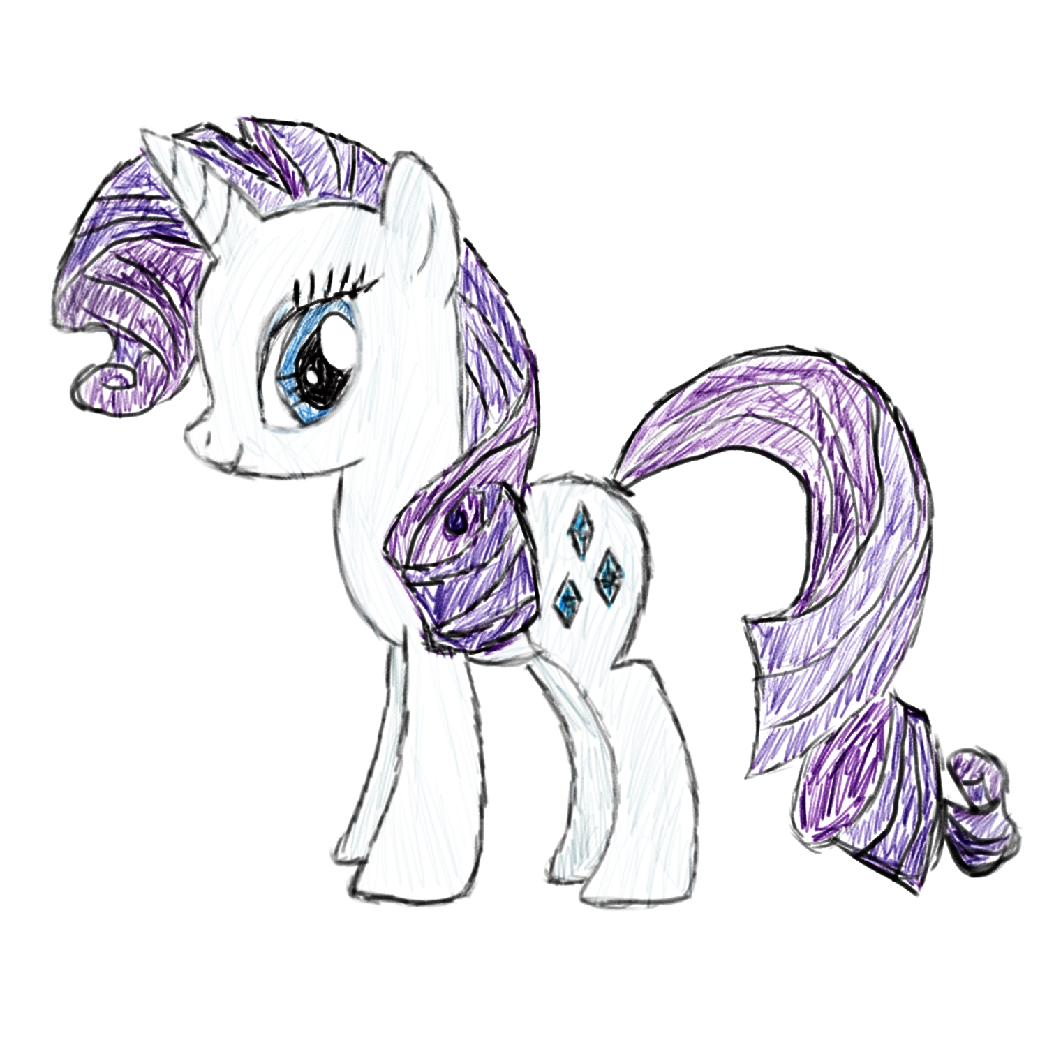 1500x1500 Rarity Drawing My Little Pony Friendship Is Magic Know Your Meme