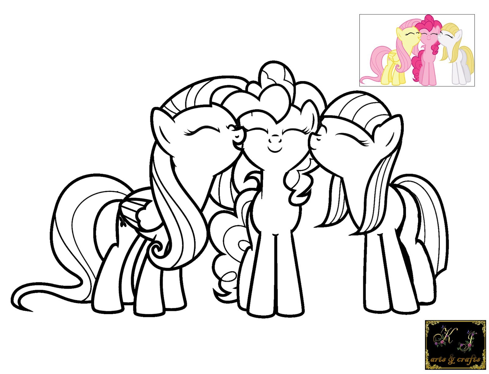 1600x1223 My Little Pony Coloring Pages Of Pinkie Pie Copy Free Games