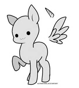 270x300 Huge Collection Of 'pony Drawing Base' Download More Than