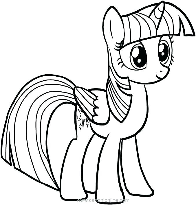 677x709 My Little Pony Coloring Pages Coloring Book To Her With Princess