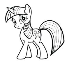 230x230 Top 'my Little Pony' Coloring Pages Your Toddler Will Love To Color