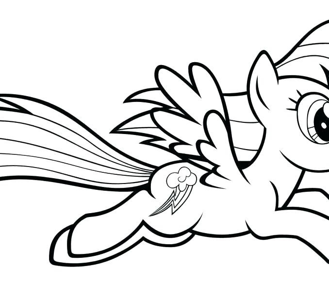 My Little Pony Rainbow Dash Drawing | Free download on ...
