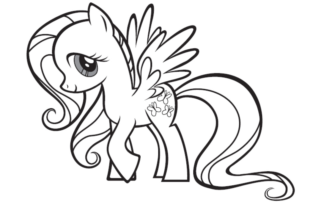 My Little Pony Da Colorare.My Little Pony Unicorn Drawing Free Download On Clipartmag