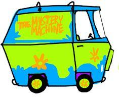 Mystery Machine Drawing