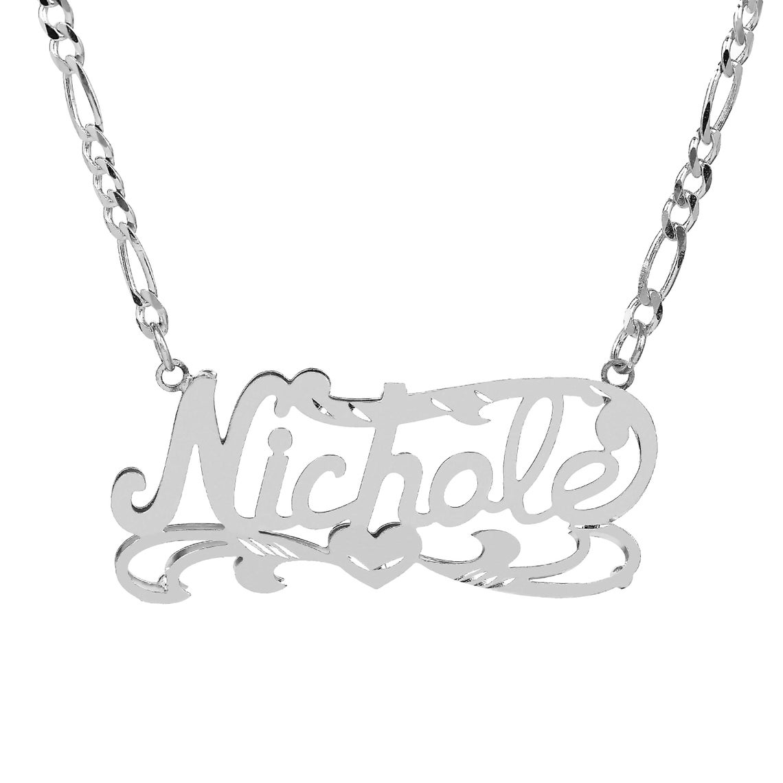 1140x1140 double name plate name plate my name necklace your name etsy