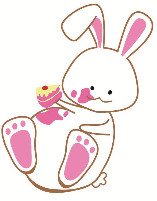 542x694 chubby bunny presents bunnies bows art exhibition chubby