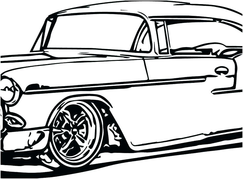 827x609 Coloring Pages Race Cars