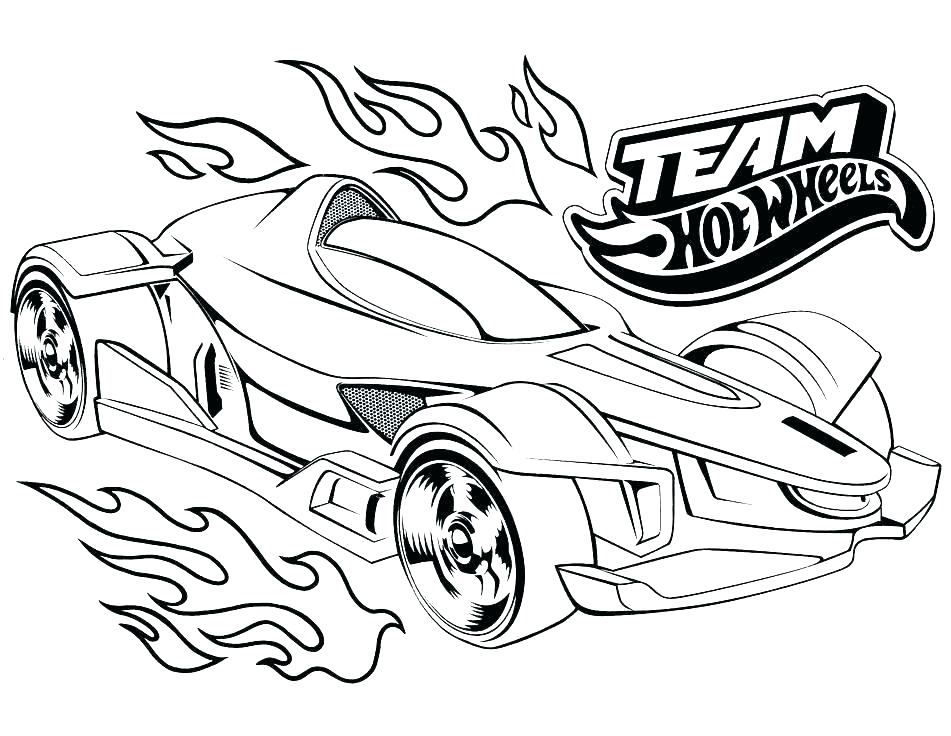 951x736 Free Race Car Coloring Pages