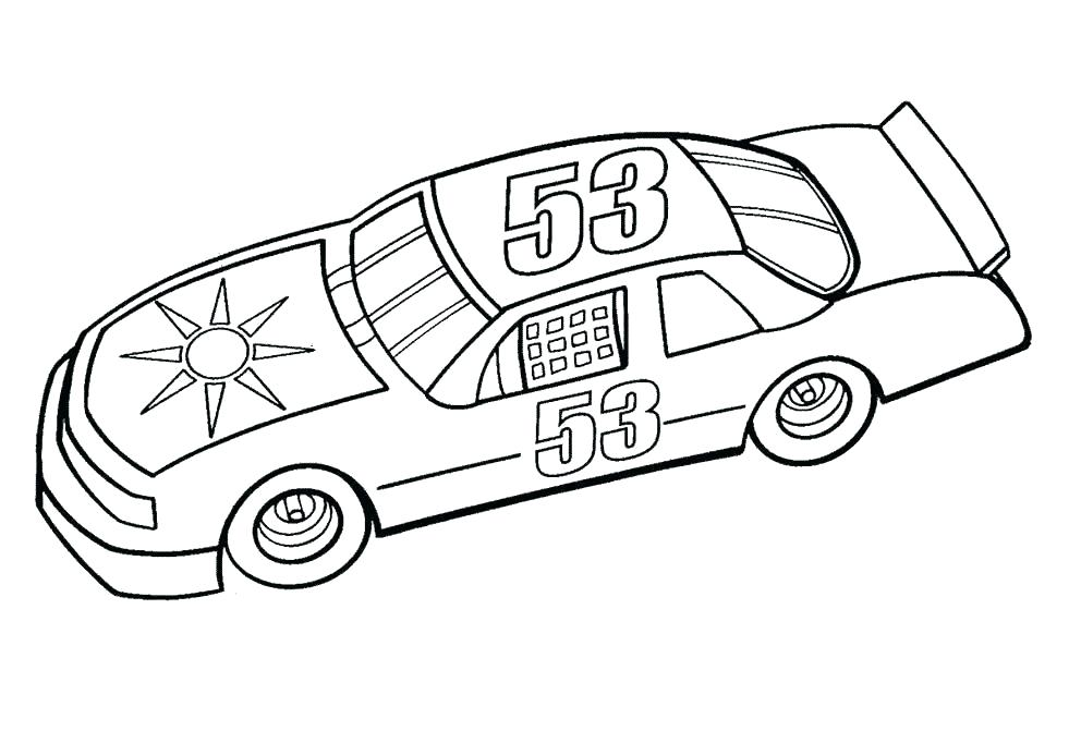 981x671 Nascar Coloring Pages