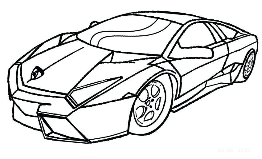 850x517 Race Cars Coloring Pages