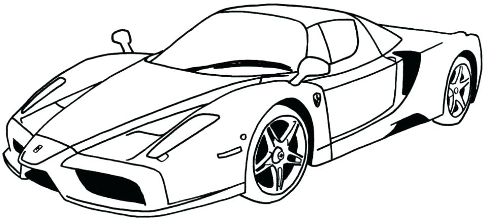 960x438 Cars Printable Colouring Pages Coloring