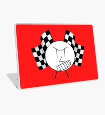 210x230 Nascar Drawing Laptop Skins Redbubble