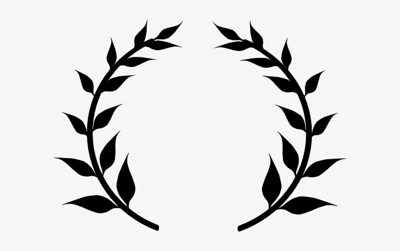 820x516 Laurel Wreath Drawing At Getdrawings