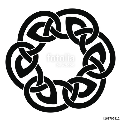 500x500 Celtic National Drawing Stock Image And Royalty Free Vector