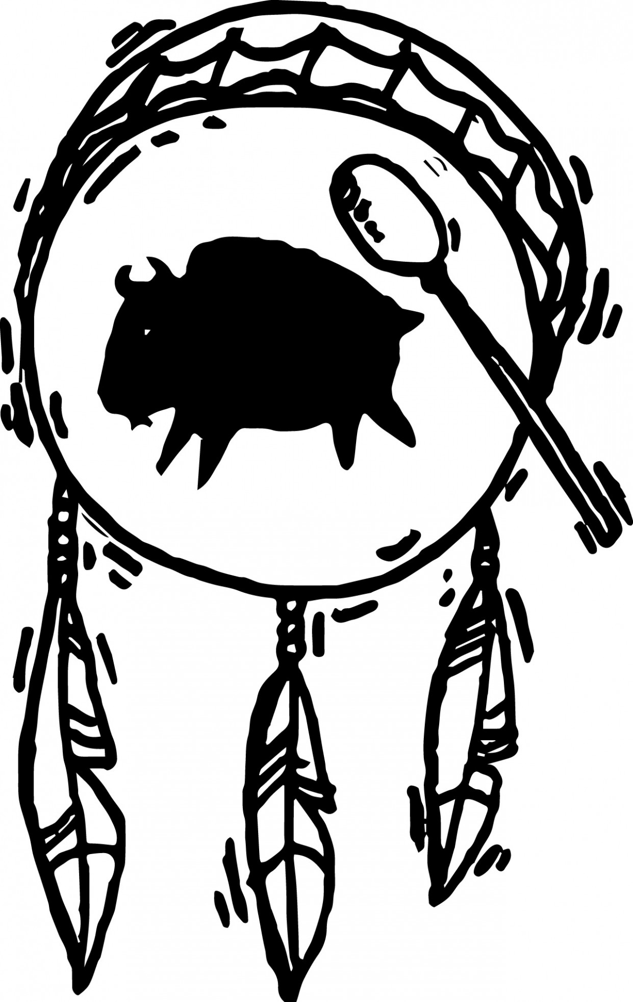 1241x1964 native american art native american drum coloring