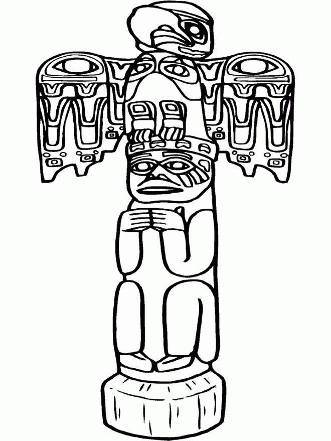660x879 cartoon totem pole native american totem pole drawing xoxo
