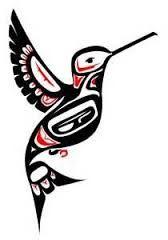 Native American Girl Drawing