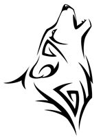 150x198 native american animal symbol wolf tattoos native american