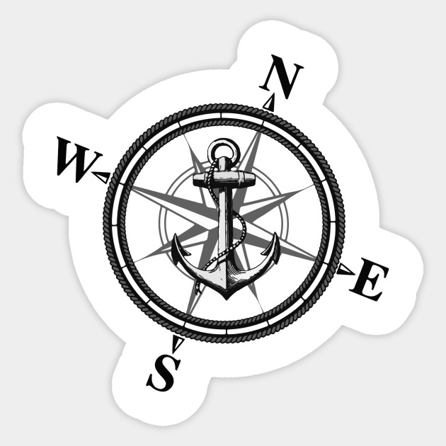630x630 Anchor Drawing Compass For Free Download