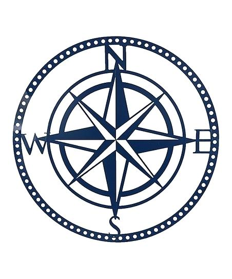 452x543 Compass Rose Wall Art Navy Compass Rose Wall Art Nautical Compass