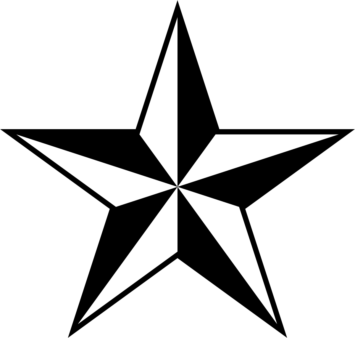 1200x1141 Nautical Star