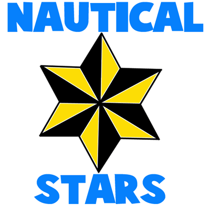400x400 How To Draw Sided Nautical Stars With Easy Step