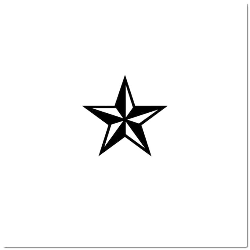 821x821 Nautical Star Vinyl Decal