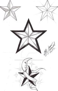 236x369 Unique Nautical Star Tattoos And Star Tattoos, Tattoo