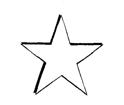 518x438 Pointed Star Transparent Png Clipart Free Download
