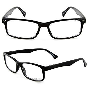 355x355 retro horned rim retro classic nerd glasses clear lens