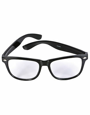 313x400 oversized tortoise shell retro nerd geek black clear lens plain