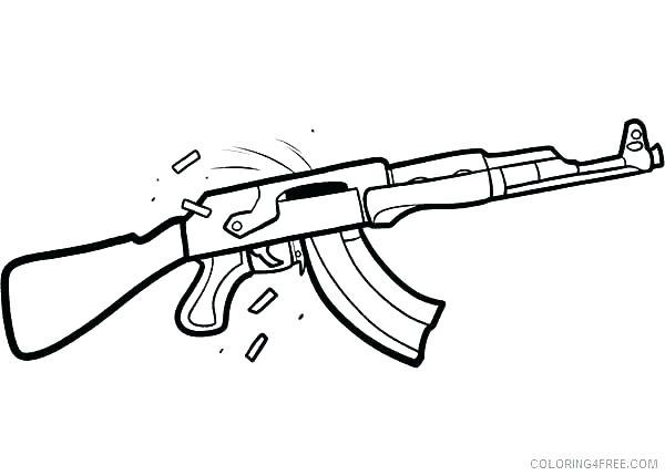Free Printable Nerf Gun Coloring Pages