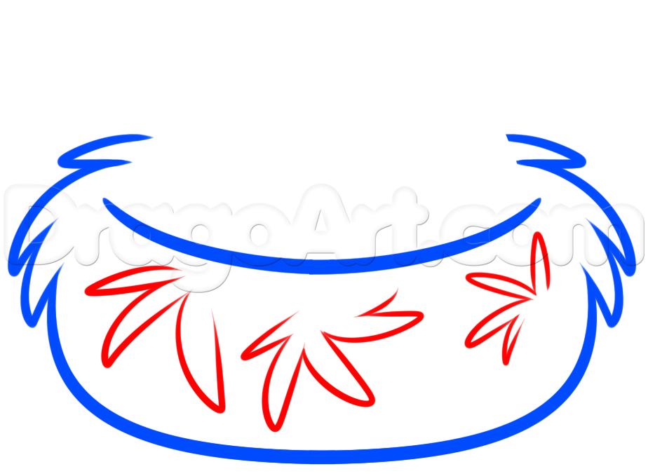 924x679 Draw A Bird Nest, Step
