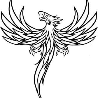 336x336 Bird Line Drawing Blue Designs Nest Kiwi Cardinal Clipart