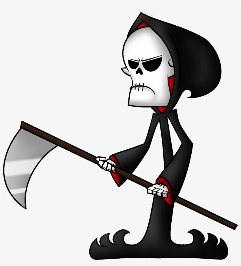 820x903 Death Grim Cartoon Network Drawing