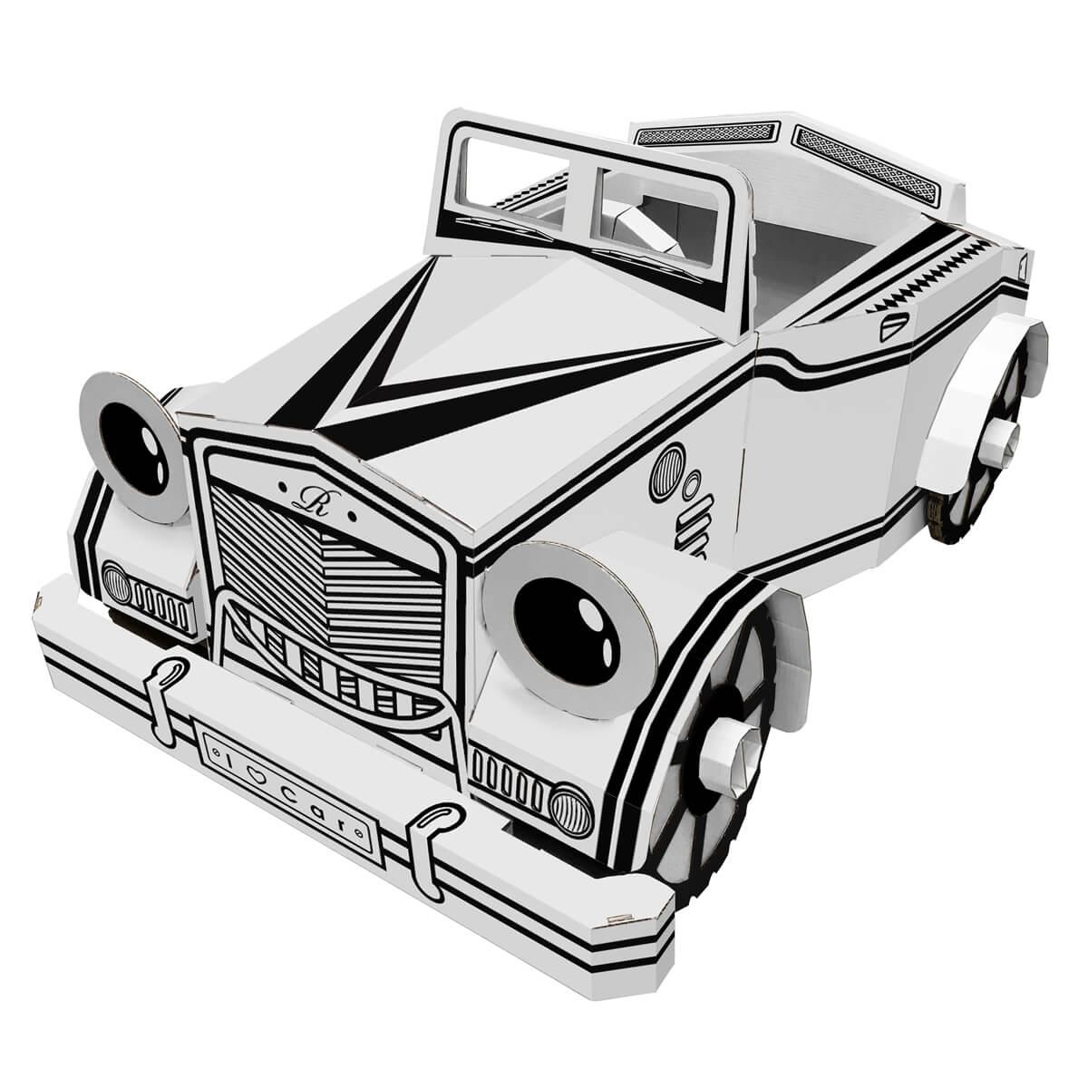 1200x1200 Cardboard Wearable Toy Car