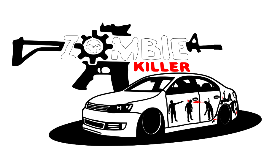 917x562 Collection Of Free Car Drawing Zombie Download On Ui Ex