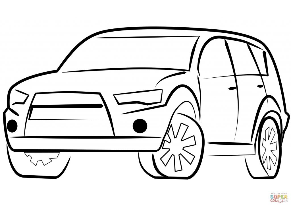 1024x724 Coloring Car Best Family Car Coloring Pages New Car For Coloring