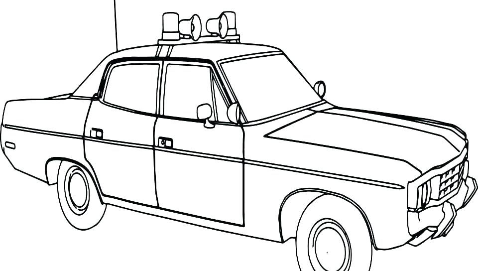960x544 Coloring Pages Of Police Cars Police Car Coloring Pages Fresh