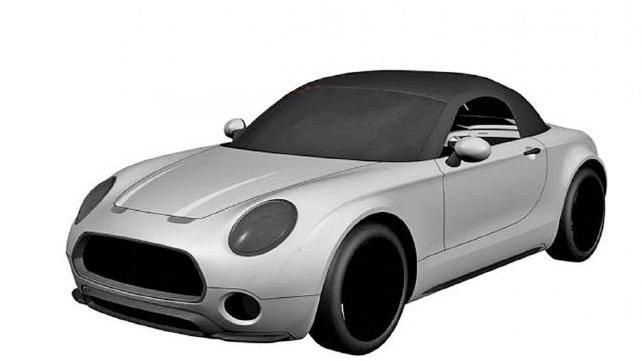 642x361 Mini's Patent Drawing Reveals A New Sports Car Design