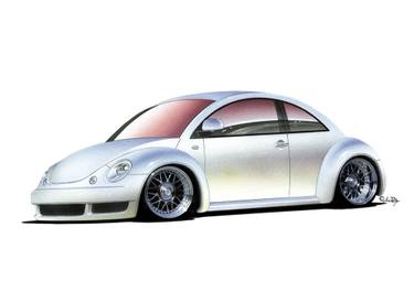 375x265 Vw New Beetle Tuner Style Drawing