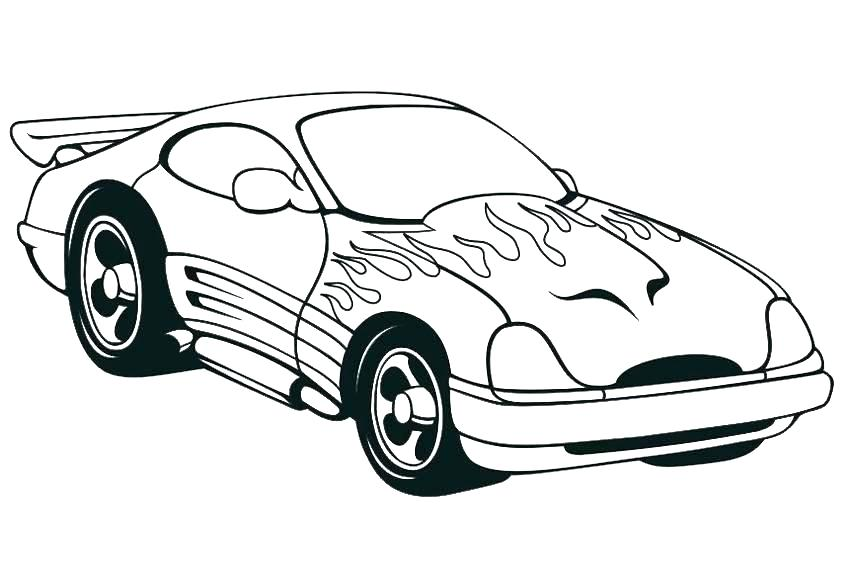 850x567 Car Coloring Pages Printable Cars